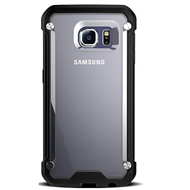 용 Samsung Galaxy S7 Edge 충격방지 / 투명 케이스 뒷면 커버 케이스 갑옷 하드 PC Samsung S7 edge / S7 / S6 edge / S6
