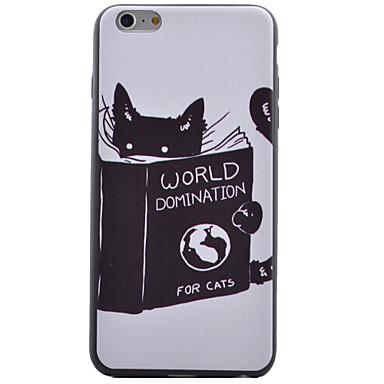 케이스 제품 Apple iPhone 6 iPhone 6 Plus 투명 뒷면 커버 고양이 소프트 TPU 용 iPhone 6s Plus iPhone 6 Plus iPhone 6s 아이폰 6 iPhone SE/5s iPhone 5