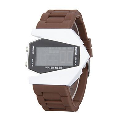 Χαμηλού Κόστους Ανδρικά ρολόγια-Ανδρικά Αθλητικό Ρολόι Ρολόι Καρπού Ψηφιακό ρολόι Ψηφιακή σιλικόνη Μαύρο / Λευκή / Μπλε Συναγερμός Ημερολόγιο Χρονογράφος Ψηφιακό Κόκκινο Πράσινο Μπλε Ενας χρόνος Διάρκεια Ζωής Μπαταρίας / LED / LCD