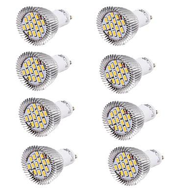 YouOKLight 6 W 450-500 lm GU10 LED szpotlámpák MR16 15 led SMD 5630 Dekoratív Meleg fehér Hideg fehér AC 100-240V AC 220-240V AC 85-265V