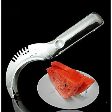 식품 학년 스테인레스 스틸 과일은 대형 수박 절단 단 물 슬라이서 90g을 잘라 두껍게