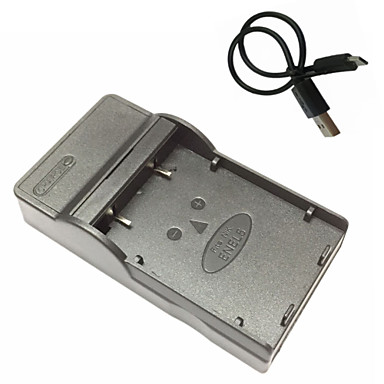 니콘 COOLPIX의 P4의 P80 P90의 P100 P500의 P510의 P520에 대한 EL5 마이크로의 USB 모바일 카메라 배터리 충전기