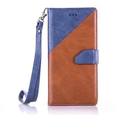 케이스 제품 Huawei P9 Lite P9 화웨이 케이스 지갑 카드 홀더 스탠드 풀 바디 한 색상 하드 인조 가죽 용 화웨이 P9 화웨이 P9 라이트