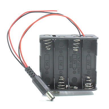 kettős kimenet 8 * AA elem tartó esetén w / dugaszt Arduino