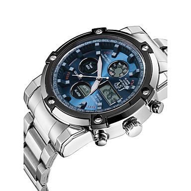 ASJ Men's Quartz Digital Digital Watch Wrist Watch Sport Watch Japanese Chronograph Water Resistant / Water Proof Noctilucent Stopwatch