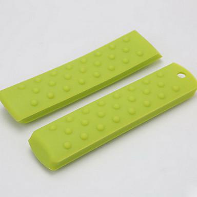 뜨거운 냄비 팬 핸들 그립에 대한 실리콘 절연 구걸 세트는 고온 미끄럼 방지 핸들 5PCS를 설정 처리