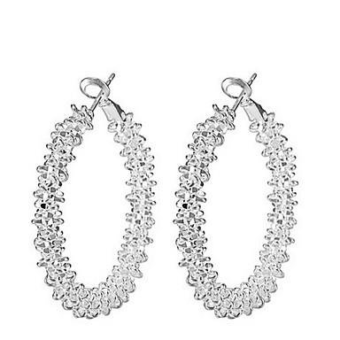 53e40538d5d9 abordables Pendientes-Mujer Pendients de aro Aretes damas Bohemio Moda Boho  Elegante Druzy Joyas Blanco