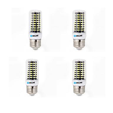 4 db brelong 6w 550-600lm e14 / g9 / gu10 / e27 / b22 led corn világítás 80 smd 5733 meleg / hideg fehér ac 220-240 v