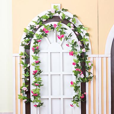 Sztuczne Kwiaty 1 Gałąź Styl nowoczesny Rośliny Kwiaty na ścianę