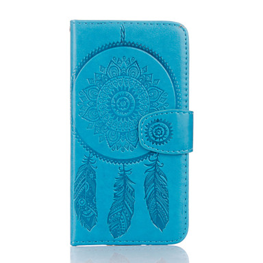Capinha Para Samsung Galaxy Samsung Galaxy Capinhas Porta-Cartão Carteira Com Suporte Flip Estampada Com Relevo Capa Proteção Completa