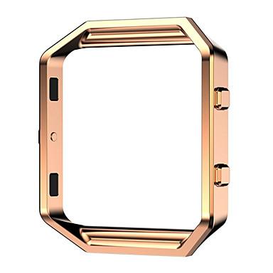 Czarny / Rose / Złoty / Srebrny Stal nierdzewna / Metal Replace Metal Frame Bransoletka stalowa Na Fitbit Zegarek 23mm