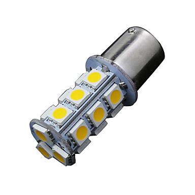 2 x warm witte 1156 BA15s 18-SMD 5050 richtingaanwijzer backup reverse LED-lampen