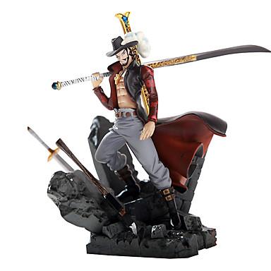 op de top van andere theater versie van hawkeye Mihawk koning van de strijd garage kit anime action figures model speelgoed