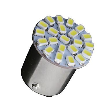 10 x witte 1156 BA15S 22 smd LED-lampen richtingaanwijzer backup P21W 382 7506