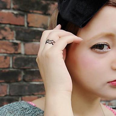 Női Karikagyűrűk Divat Punk stílus Személyre szabott Gyanta Ékszerek Kompatibilitás Napi