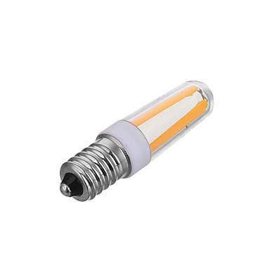 1 개 200-300lm E14 LED필라멘트 전구 T 4 LED 비즈 COB 밝기조절가능 장식 따뜻한 화이트 차가운 화이트 220-240V