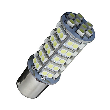 2x xenon witte 1156 BA15s 68-smd rv camper richtingaanwijzer LED-lampen 1141 1003