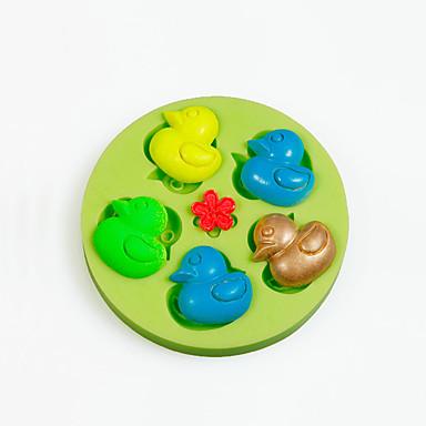 sütőformát Állat Csokoládé Palacsinta Torta Szilikon DIY Születésnap Jó minőség