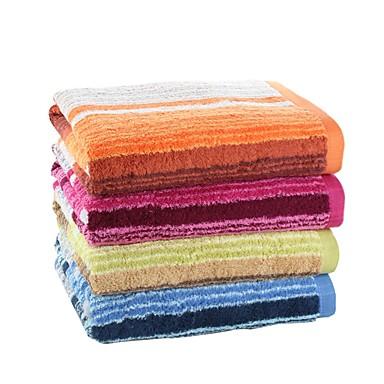 목욕 타올,염색된 실 고품질 100% 면 수건