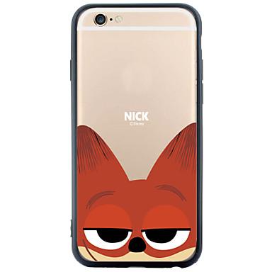 용 아이폰6케이스 아이폰6플러스 케이스 케이스 커버 패턴 뒷면 커버 케이스 동물 소프트 TPU 용 Apple iPhone 6s Plus iPhone 6 Plus iPhone 6s 아이폰 6 iPhone SE/5s iPhone 5