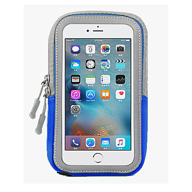 voordelige iPhone 6 Plus hoesjes-hoesje Voor Apple iPhone 6s Plus / iPhone 6s / iPhone 6 Plus Waterbestendig Armband Effen Zacht PC