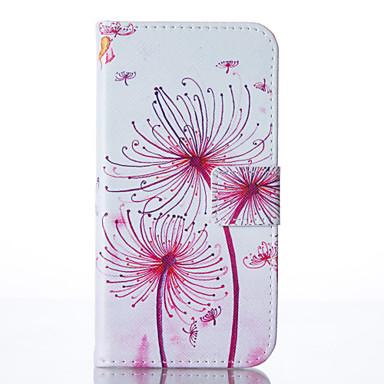 Kılıf Na Samsung Galaxy Samsung Galaxy Etui Etui na karty Portfel Z podpórką Pełne etui Mniszek lekarski Miękkie Skóra PU na A3 (2017) A5