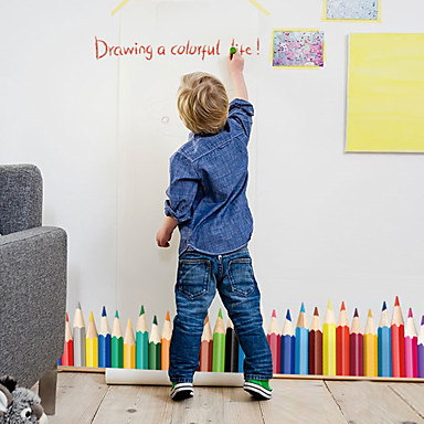 Dekoracyjne naklejki ścienne - Naklejki ścienne lotnicze Moda Living Room Sypialnia Łazienka Kuchnia Jadalnia Gabinet / Office Pokój