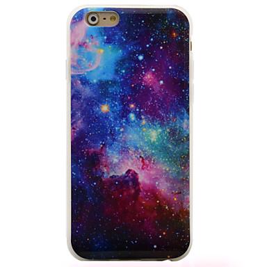 용 아이폰6케이스 / 아이폰6플러스 케이스 IMD 케이스 뒷면 커버 케이스 풍경 소프트 TPU Apple iPhone 6s Plus/6 Plus / iPhone 6s/6 / iPhone SE/5s/5