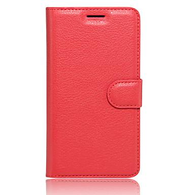 Hülle Für LG K8 LG LG K5 LG K4 LG K10 LG G5 Kreditkartenfächer Geldbeutel mit Halterung Flipbare Hülle Ganzkörper-Gehäuse Volltonfarbe