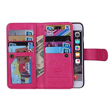 iPhone 7 iPhone 6 di Plus iPhone portafoglio Custodia 8 iPhone Apple carte A Porta 7 iPhone credito Plus 8 6 iPhone 04819180 Plus Con Per wxq8OIz