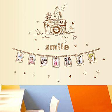 로맨스 벽 스티커 플레인 월스티커 데코레이티브 월 스티커 자료 재부착가능 홈 장식 벽 데칼