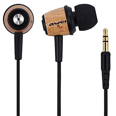 Awei q9 in Ohr Kopfhörer 3,5 mm Klinke Stereo Hifi Kopfhörer Kopfhörer mit 2 Paar Ohrhörer für xiaomi meizu huawei Samsung Telefon