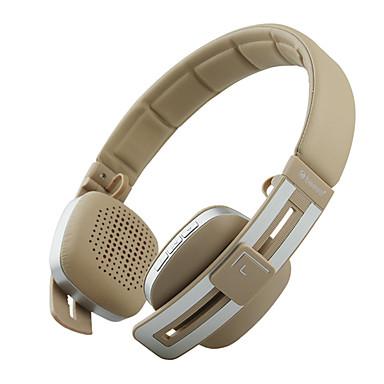 Beevo V8 귀에 머리띠 무선 헤드폰 동적 플라스틱 모바일폰 이어폰 마이크 포함 볼륨 컨트롤 하이파이 헤드폰