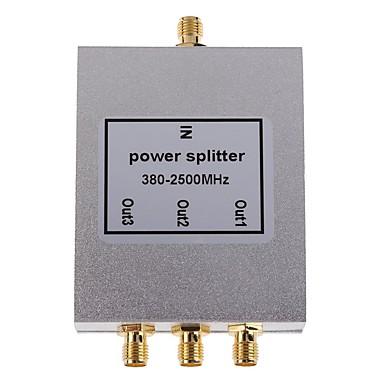 휴대 전화 신호 부스터 중계기 3 방향 SMA 형 전력 분배기 스플리터 380-2500mhz