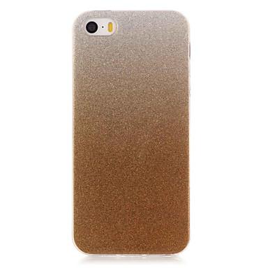 용 아이폰6케이스 / 아이폰6플러스 케이스 IMD 케이스 뒷면 커버 케이스 글리터 샤인 소프트 TPU AppleiPhone 6s Plus/6 Plus / iPhone 6s/6 / iPhone SE/5s/5 / iPhone 5c / iPhone
