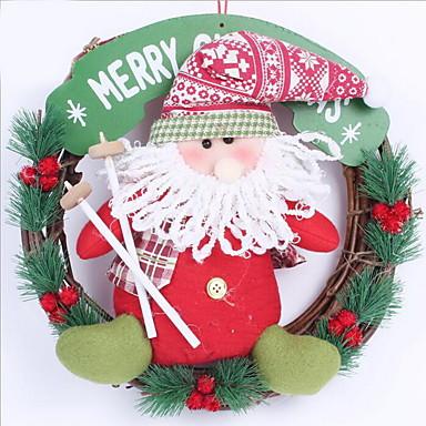 2 분기 등나무 Others 크리스마스 트리 벽 걸이 플라워 인공 꽃