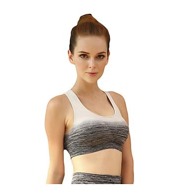 Női Izrezana majica Ujjatlan Anti-Shake Gyors szárítás Légáteresztő Tömörítés Upijanje znoja Ütésálló Kompressziós ruházat mert Jóga
