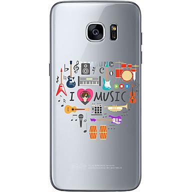 케이스 제품 Samsung Galaxy Samsung Galaxy S7 Edge 패턴 뒷면 커버 펑크 소프트 TPU 용 S7 edge S7 S6 edge plus S6 edge S6