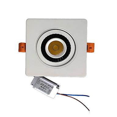 단일 회전 360도 디밍 ZDM 7와트 속 천장 램프를 내장 주도 (ac90-260v)