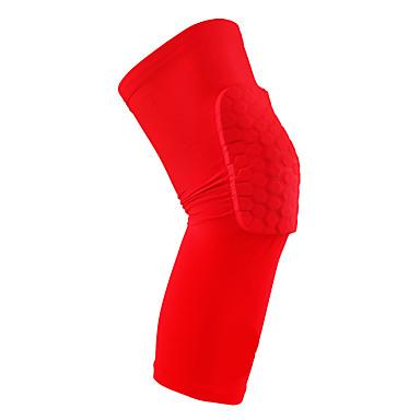 Joelheira Protetores Com Enchimento para Unissex Apoio conjunto Respirável Serve joelho esquerdo ou direito Elástico Protecção