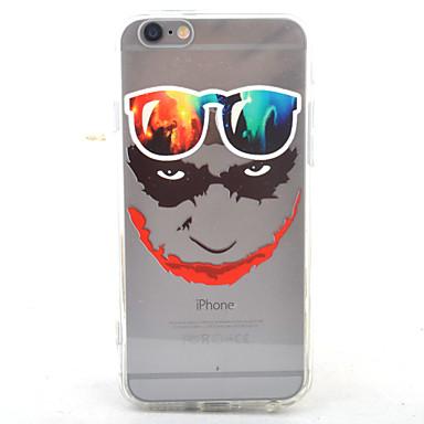 용 아이폰7케이스 / 아이폰7플러스 케이스 / 아이폰6케이스 투명 / 패턴 케이스 뒷면 커버 케이스 카툰 하드 아크릴 Apple 아이폰 7 플러스 / 아이폰 (7) / iPhone 6s Plus/6 Plus / iPhone 6s/6