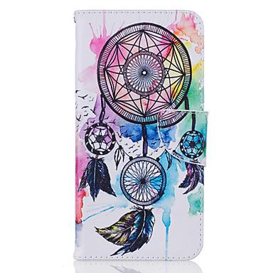Mert iPhone 7 tok / iPhone 7 Plus tok / iPhone 6 tok Kártyatartó / Minta Case Teljes védelem Case Álomvadász Kemény Műbőr AppleiPhone 7