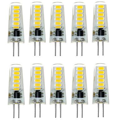 2W G4 LED Bi-pin 조명 T 12 LED SMD 5733 방수 장식 따뜻한 화이트 차가운 화이트 200-300lm 3000/6000K DC 12V