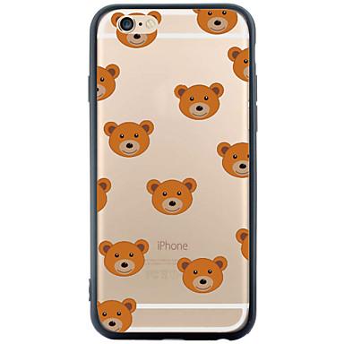 용 아이폰6케이스 / 아이폰6플러스 케이스 투명 / 패턴 케이스 뒷면 커버 케이스 타일 소프트 TPU Apple iPhone 6s Plus/6 Plus / iPhone 6s/6 / iPhone SE/5s/5