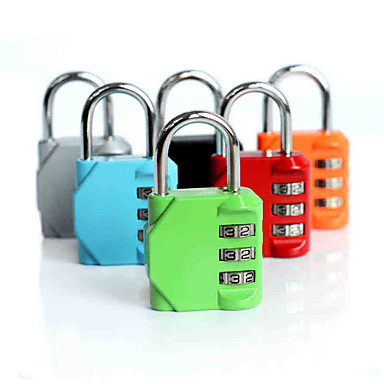 Luggage Lock 3 Digit Luggage Accessory / Anti-theft For Luggage