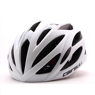 CAIRBULL 어른 자전거 헬멧 24 통풍구 CE / CE EN 1077 충격 방지, 가벼운 무게, 조절 가능한 핏 EPS, PC 스포츠 도로 사이클링 / 레크리에이션 사이클링 / 하이킹 - 블루 / 블랙 / 그린 / 블랙 / 오렌지 남성용 / 여성용