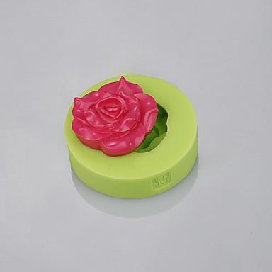 bazsarózsa alakú fondant szilikon formák torta díszítésére fondant csokoládé eszközök ramdon szín