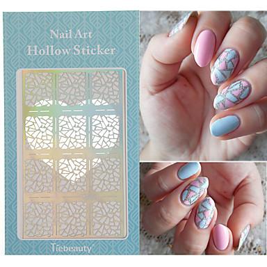 1 Nail Art matrica Műköröm díszek smink Kozmetika Nail Art Design
