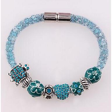 Női Elbűvölő karkötők Divat Ötvözet Circle Shape Ékszerek Kompatibilitás Napi Karácsonyi ajándékok