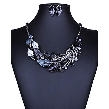 여성용 쥬얼리 세트 귀걸이 / 목걸이 - 섹시 / Euramerican / 패션 퍼플 / 그린 / 블루 보석 세트 / 목걸이 / 귀걸이 제품 결혼식 / 파티 / 일상
